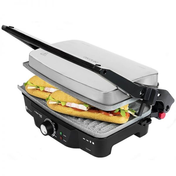 Electrische contact grill Rock'nGrill 1500 W