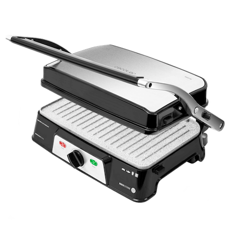 Electrische contact grill Rock'nGrill 1500 W Take & Clean