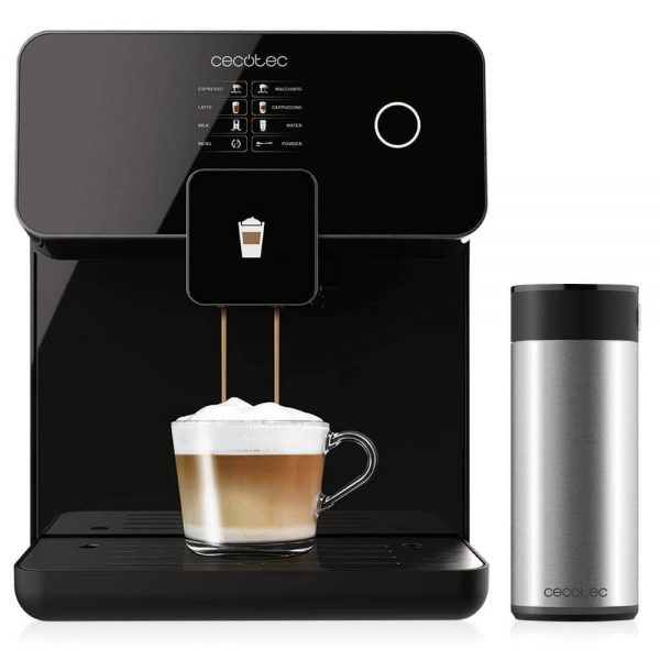 Mega-automatic Koffiemachine Power Matic-ccino 8000 Touch Serie Nera